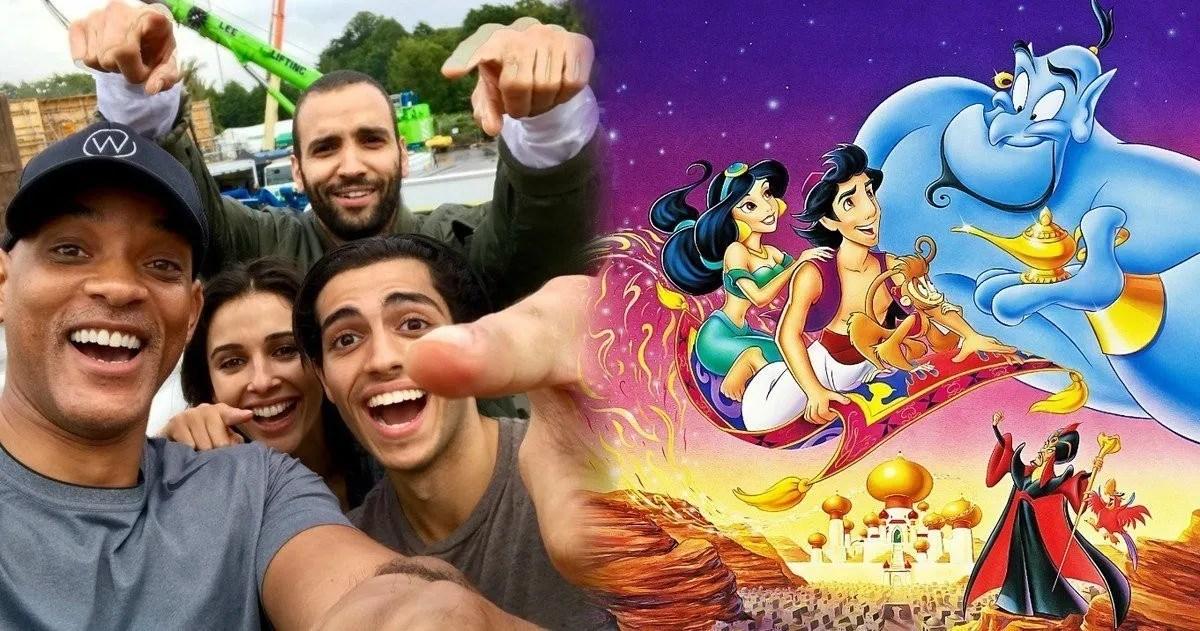 Disney's Live-Action Aladdin Movie Wraps Production