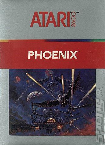 Covers Amp Box Art Phoenix Atari 2600 Vcs 1 Of 1