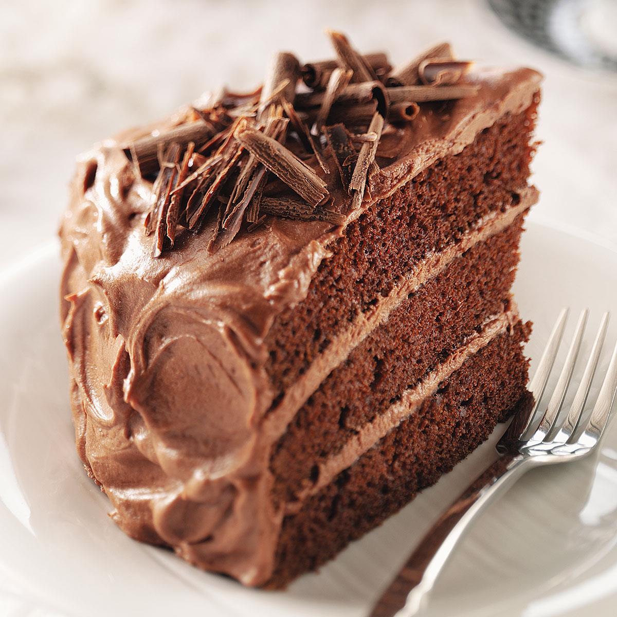 Best Chocolate Cake Recipe Taste Of Home