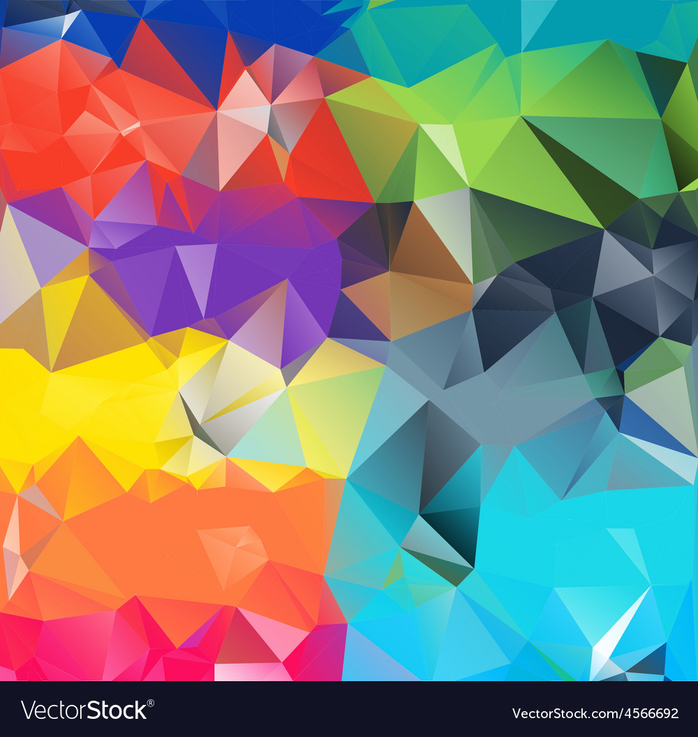 Abstract geometric background space Royalty Free Vector Abstract geometric background space vector image