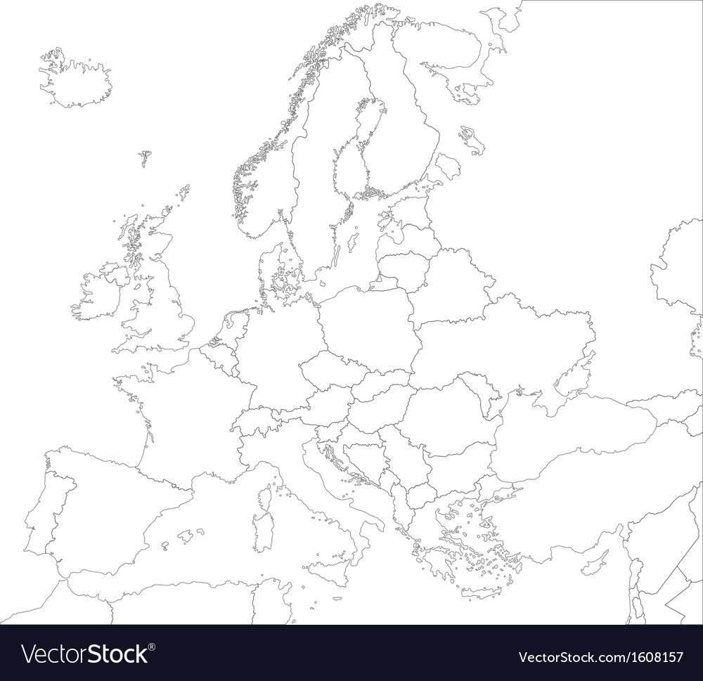 map outline of europe      Free Interior Design   Mir Detok Europe Map Outline Vector With Scales In A Blank Design Vector Art Europe  map outline vector with scales in a blank design Vector Art Blank Middle  East Map