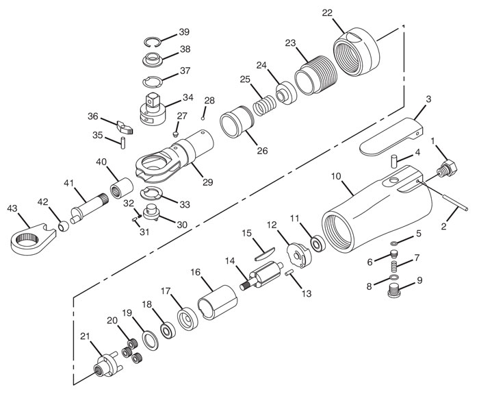 Plasma Cutter Parts Diagram