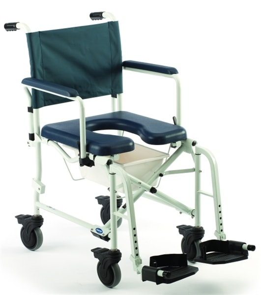Mariner Rehab Shower Commode Chair 5  Casters Larger Photo