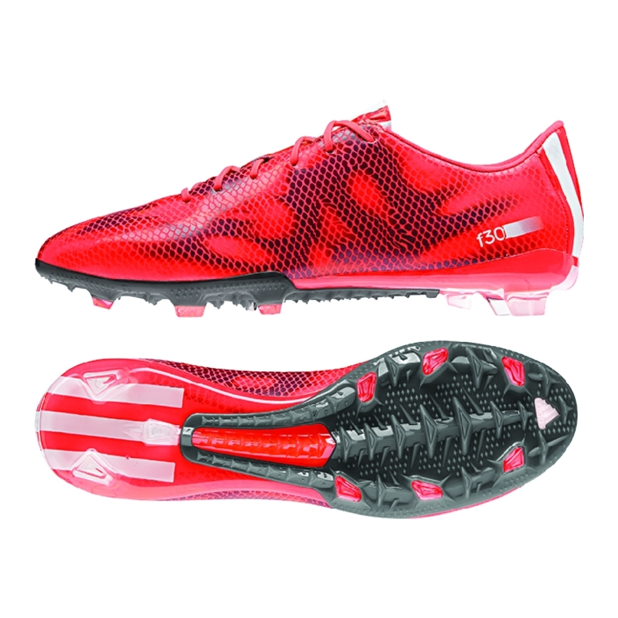 F50 Soccer Cleats Red And White