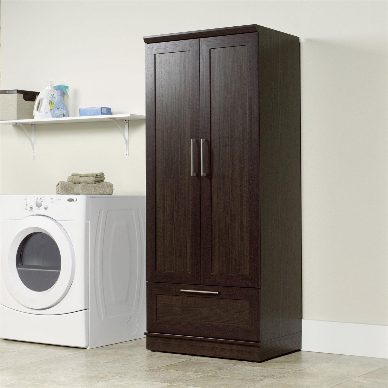Best Kitchen Gallery: Bedroom Wardrobe Armoire Cabi In Dark Brown Oak Wood Finish of Bedroom Wardrobe Cabinet on rachelxblog.com