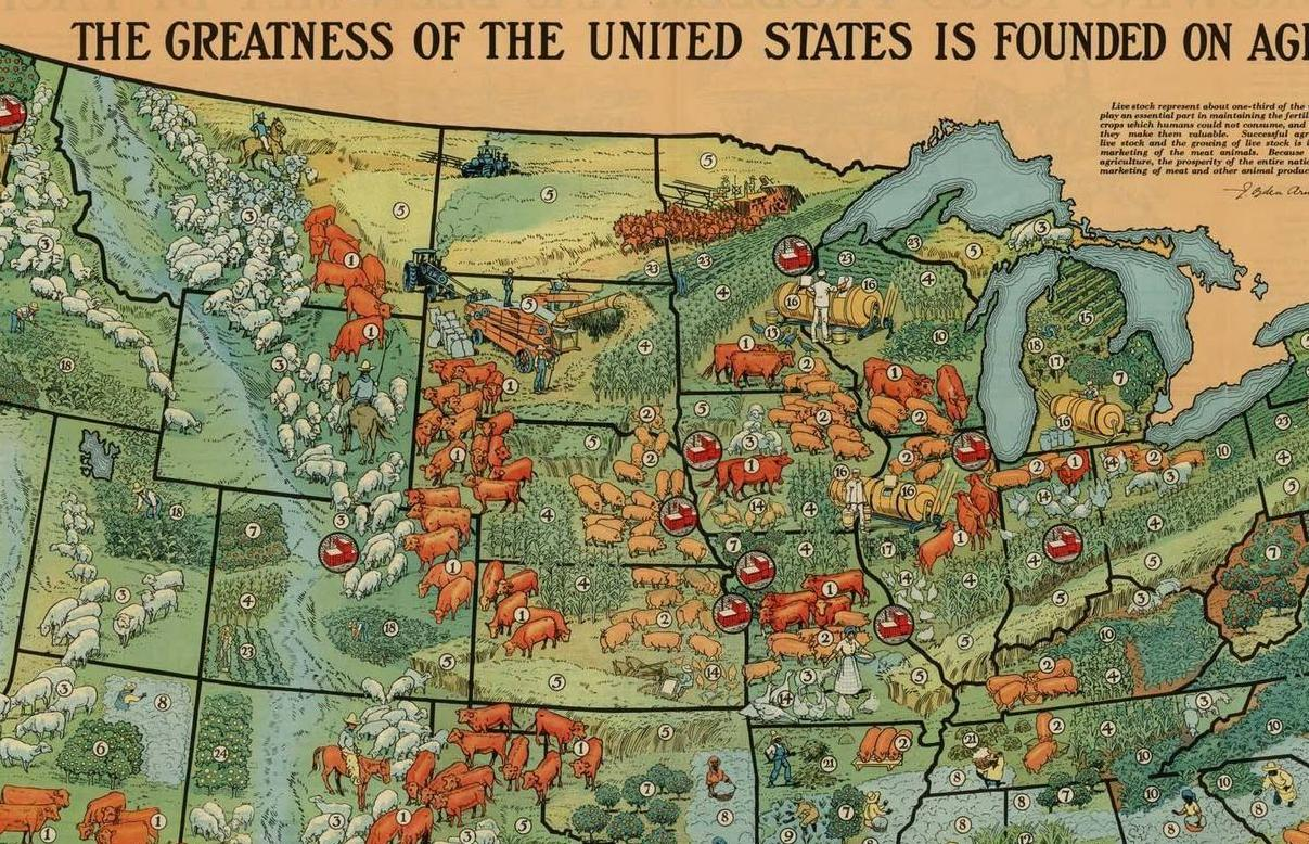 HD Decor Images » 40 maps that explain food in America   Vox com