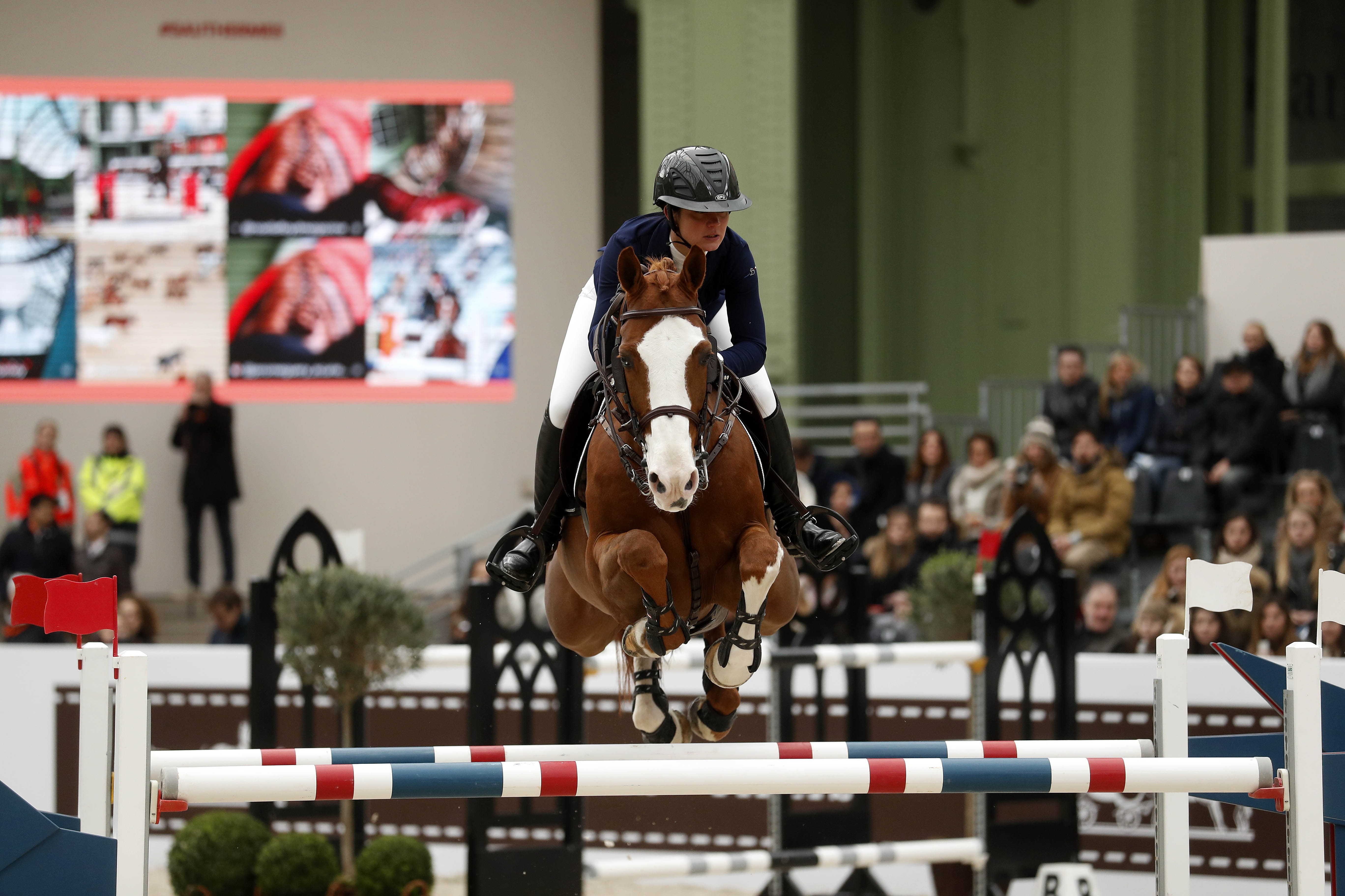 French Fashion House Herm 232 S Equestrian Competition Takes