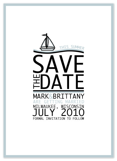 Save Date Cards Minted