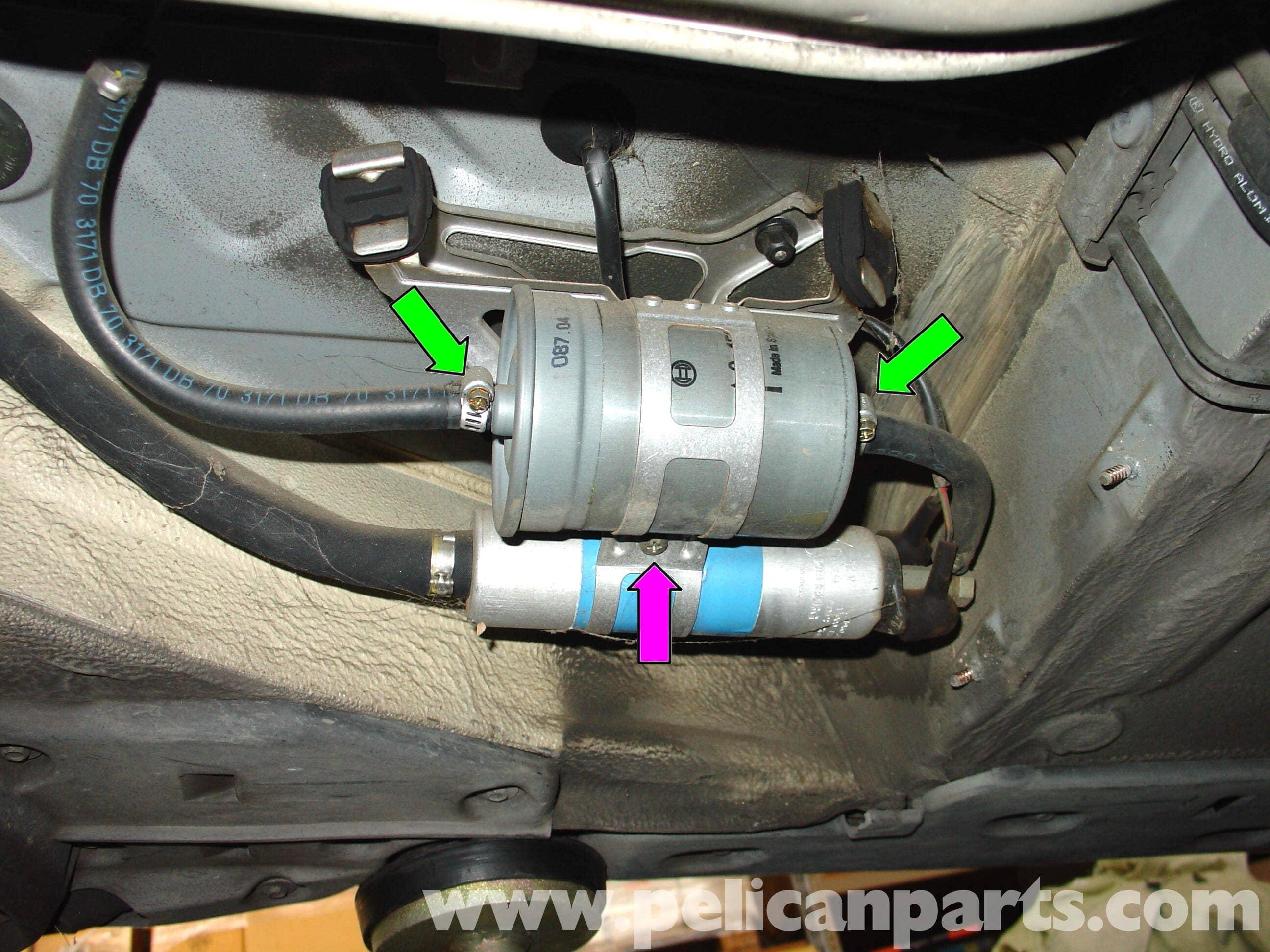 Dodge Caravan Fuel Filter Replacement 2001 Ml320