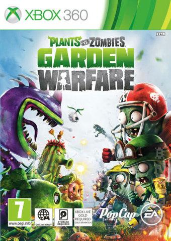 Covers Amp Box Art Plants Vs Zombies Garden Warfare Xbox