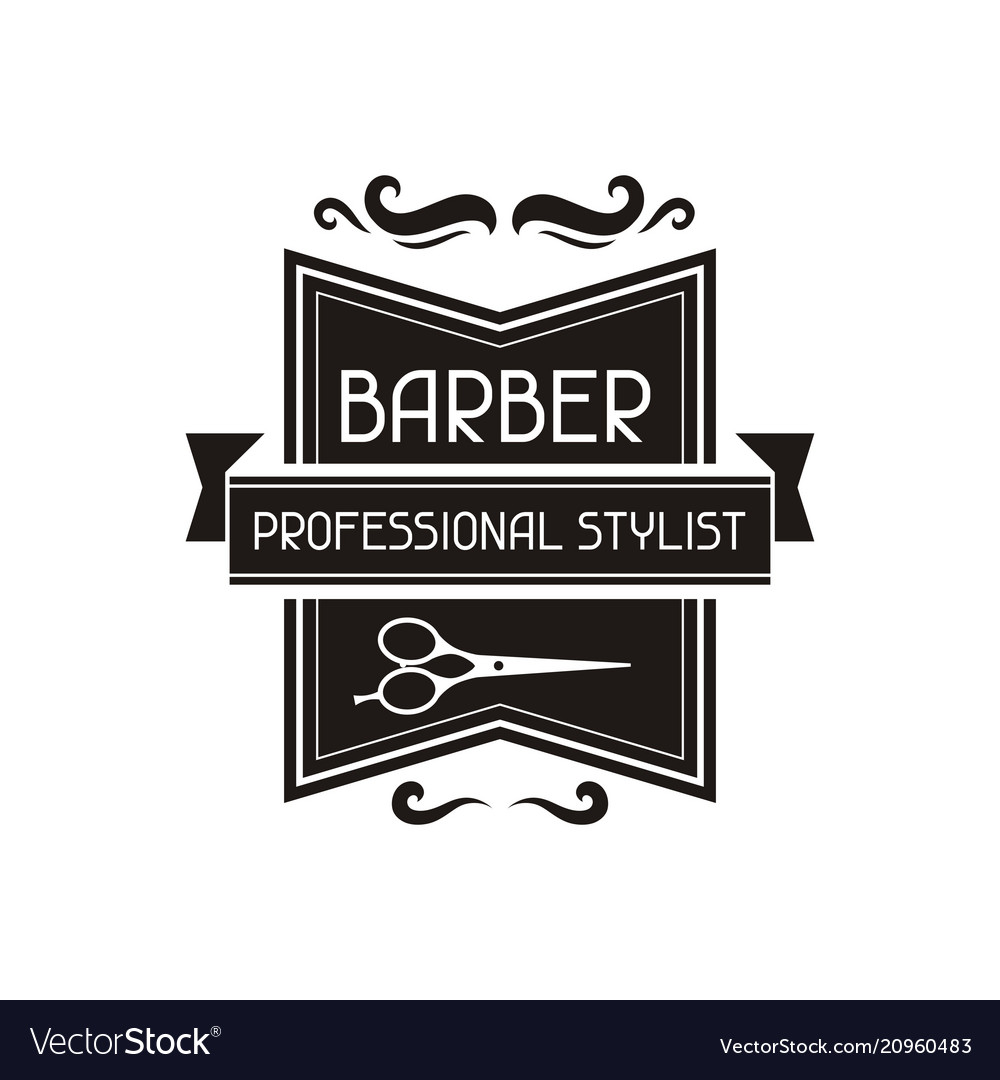 barber logo template - HD 1000×1080
