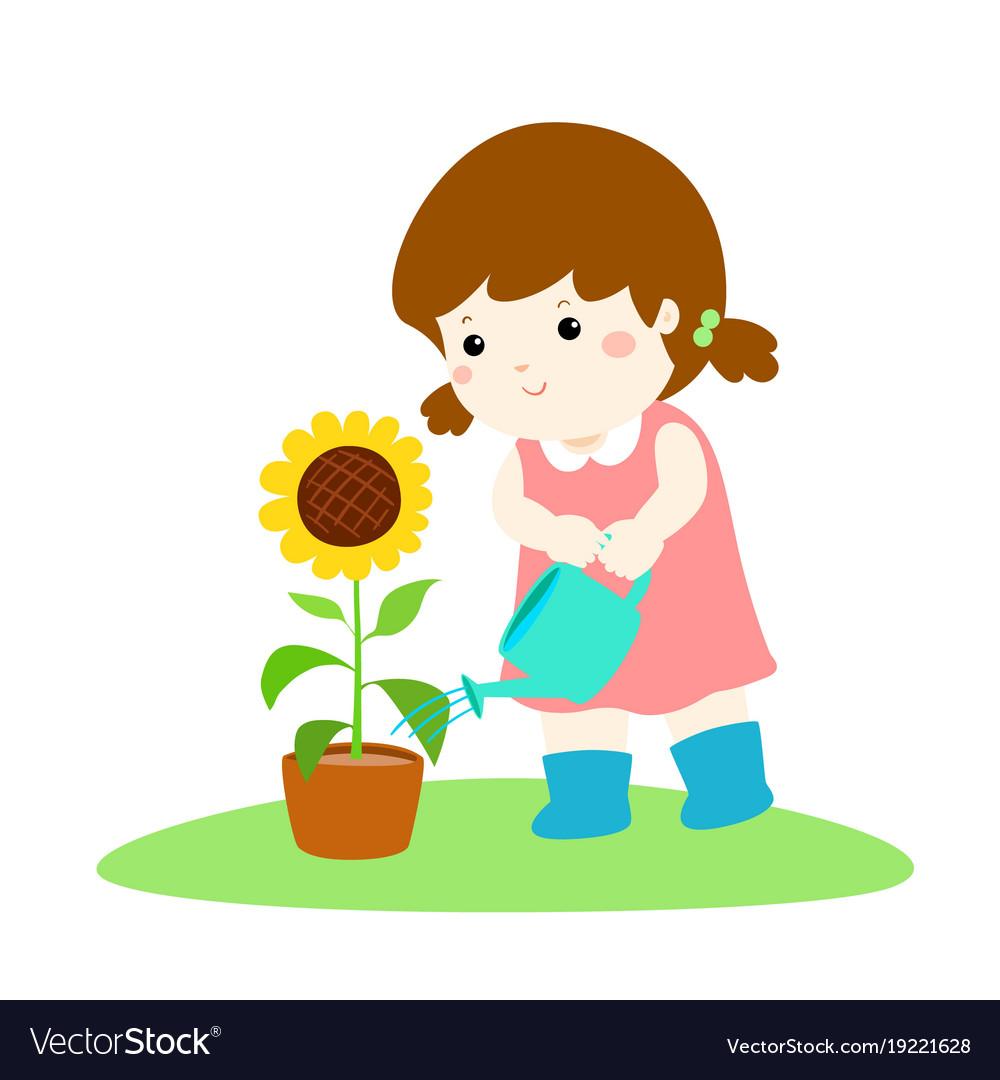 Plants And Flowers Cartoon