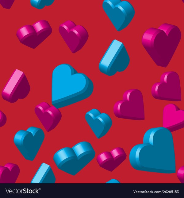 hearts colors # 54