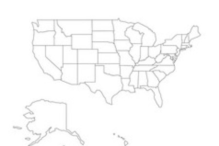 outline maps of usa » Full HD Pictures [4K Ultra] | Full Wallpapers