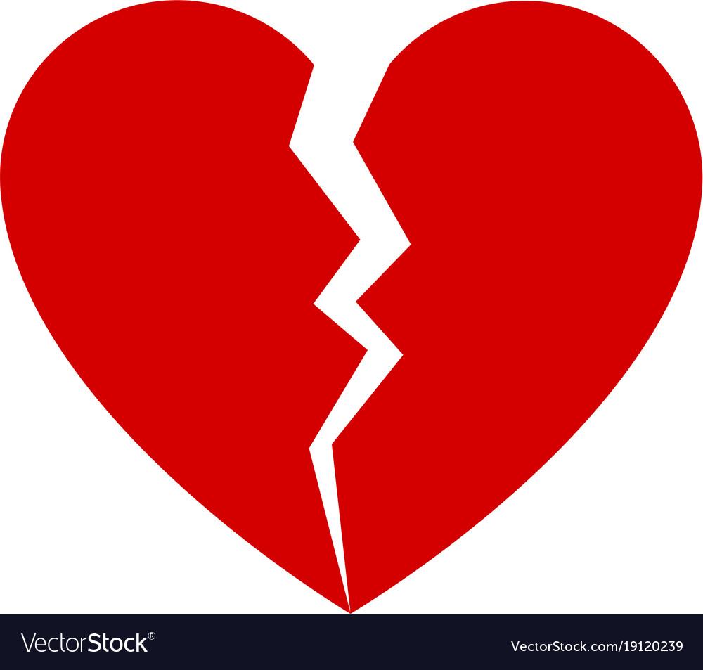 Broken Heart Symbol On Facebook