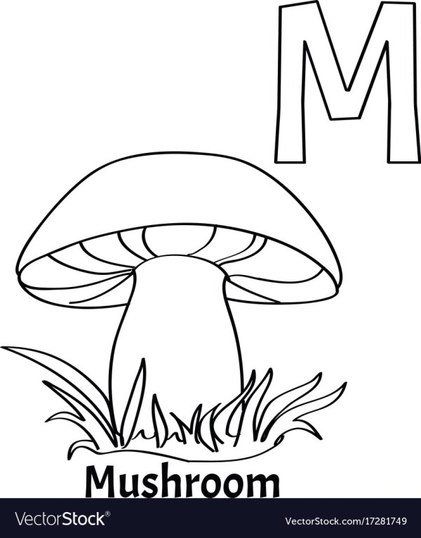 letter m coloring page # 53