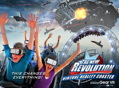 Six Flags Magic Mountain introduces VR experience with the ...