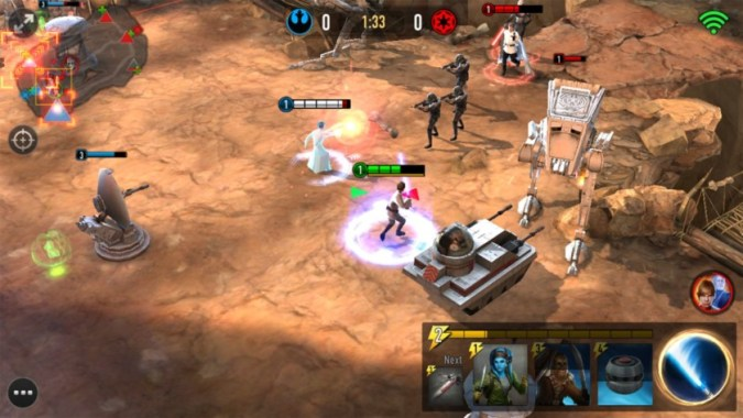 Star Wars Force Arena offers MOBA style gameplay on Android Star Wars fans have a bunch of mobile games already available to download  and play from the Google Play Store  Today  yet another game from the  massive