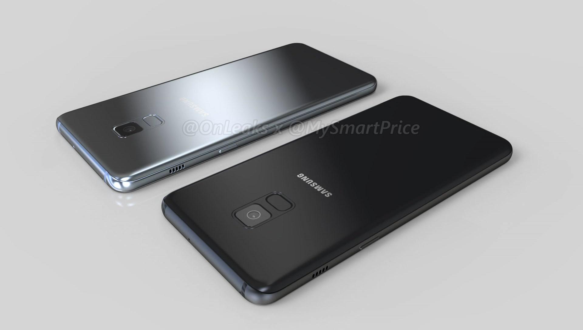 Samsung Galaxy A5 A7 2018 render3