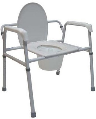 Tuffcare M450 Extra Wide 3 in 1 Bedside Commode Chair Extra Wide 3 in 1 Commode Chair M450 by Tuffcare