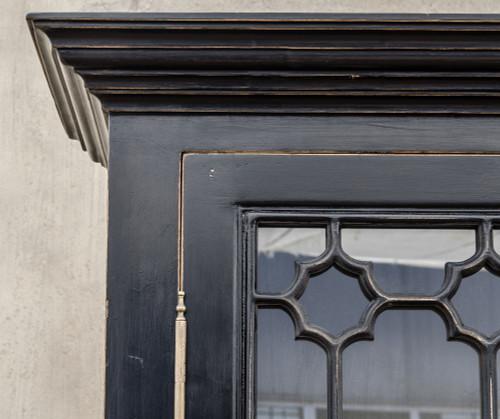 Van Thiel The Johnny Walker 2 Doors Black Cabinet Zin Home