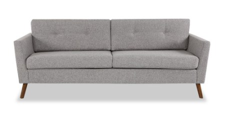 Modern Mid Century Reproduction Sofas Couches by Kardiel Articulate Modern Sofa  Urban Pebble