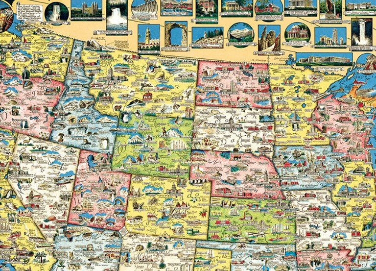 HD Decor Images » Xplorer  USA Map   1000pc Jigsaw Puzzle by Masterpieces     Xplorer  USA Map   1000pc Jigsaw Puzzle by Masterpieces