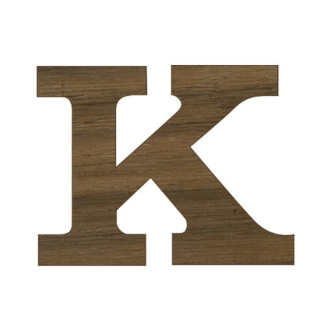 3 4 Inch Regular Wood Letters or Numbers Leave a Review
