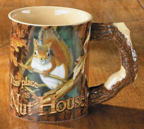 Welcome To The Nut House Mug American Expedition