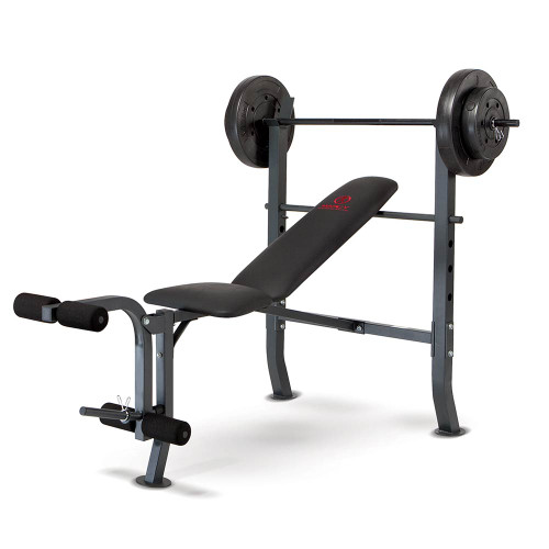 Marcy Quality Strength Weight Bench 80lb Weight Set Md 2080