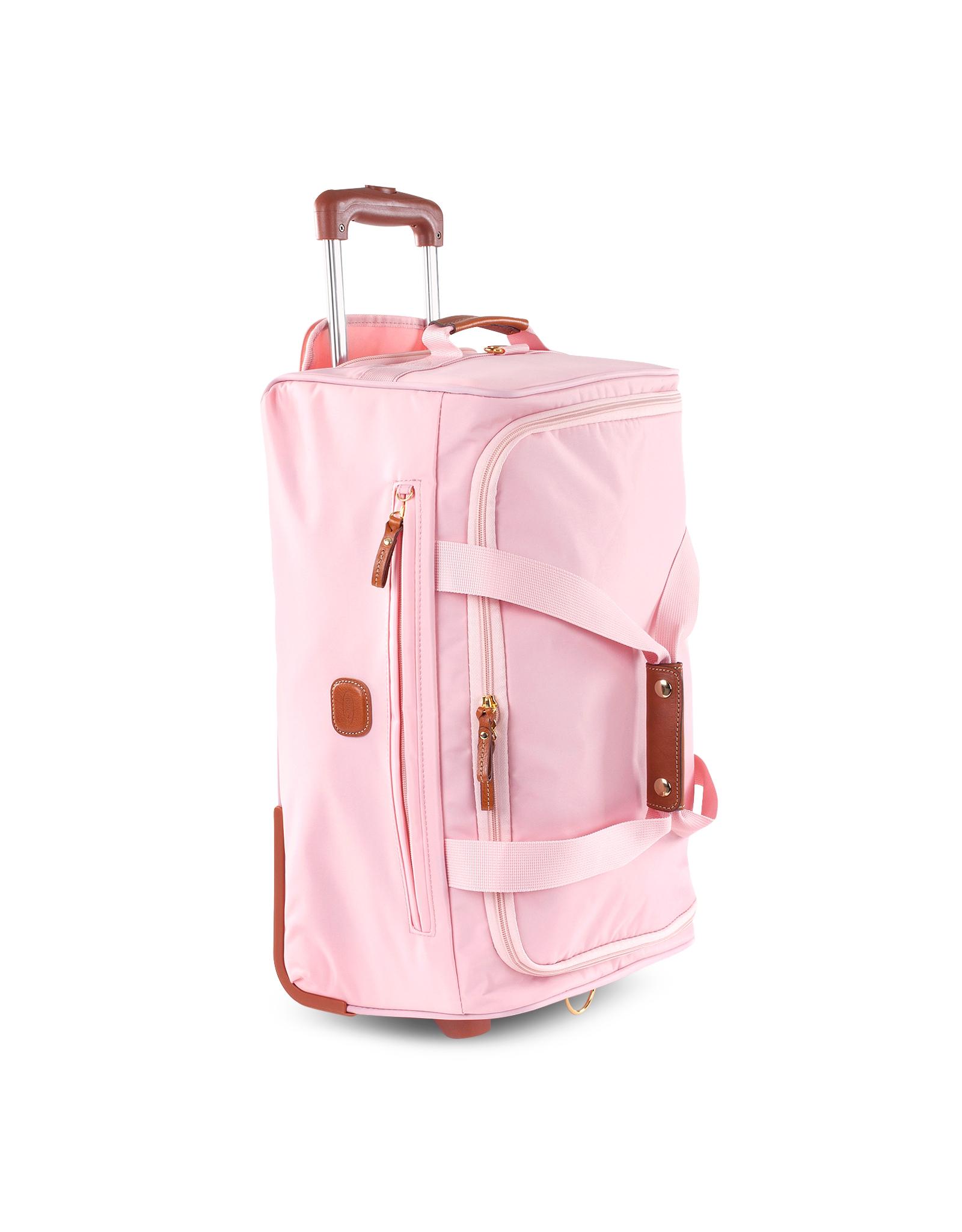 Pink Bag Duffle Wheels