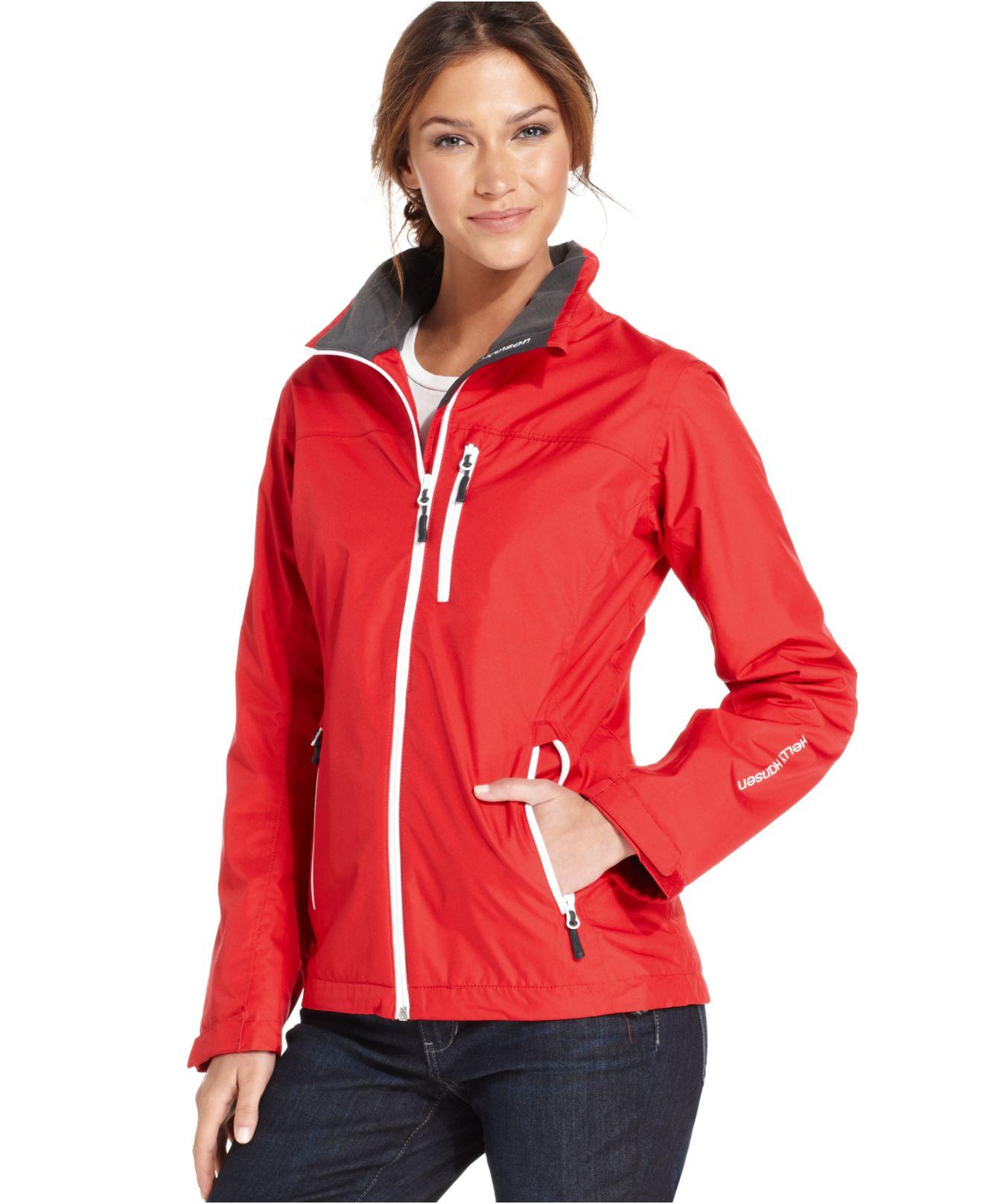 Helly Hansen Crew Midlayer Jacket In Red Lyst