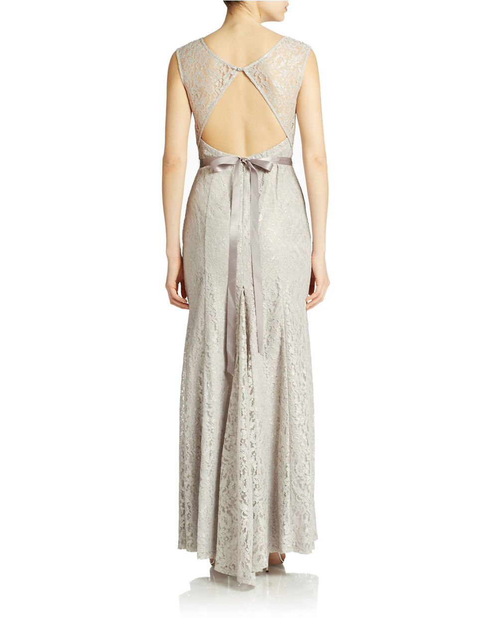 Lord Taylor Evening Dresses Silver