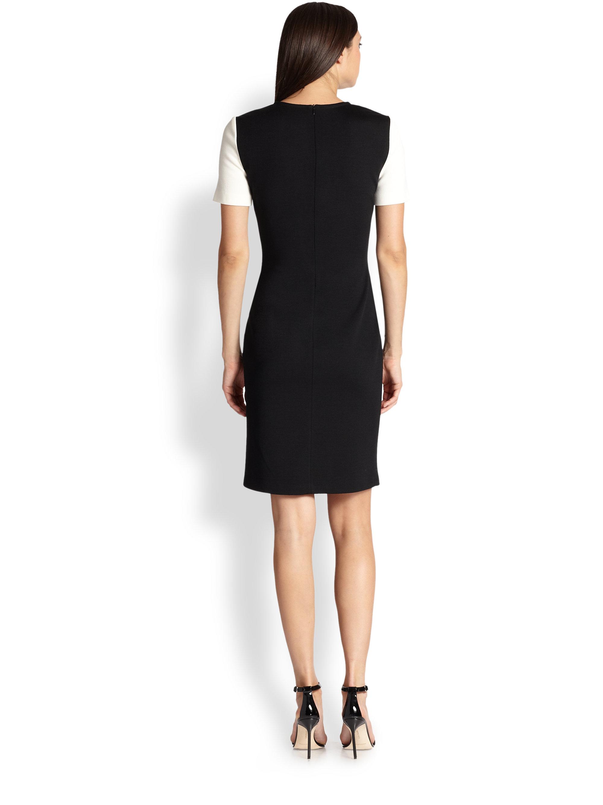 Sleeve Dresses 3 4 Jersey Knit