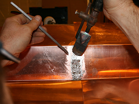 Soldering A Vertical Seam Jlc Online Roofing Exteriors