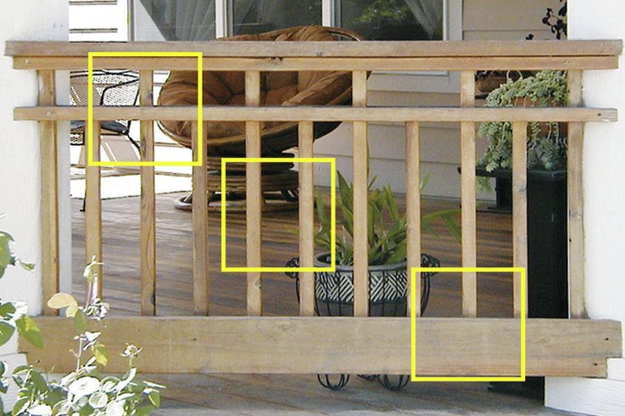 Deck Railing Height