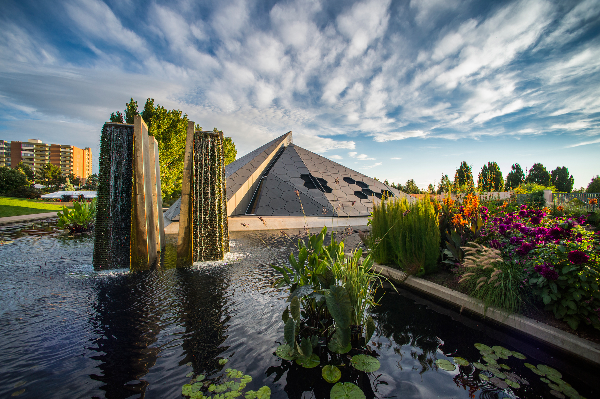 Denver Botanic Gardens Science Pyramid Architect Magazine