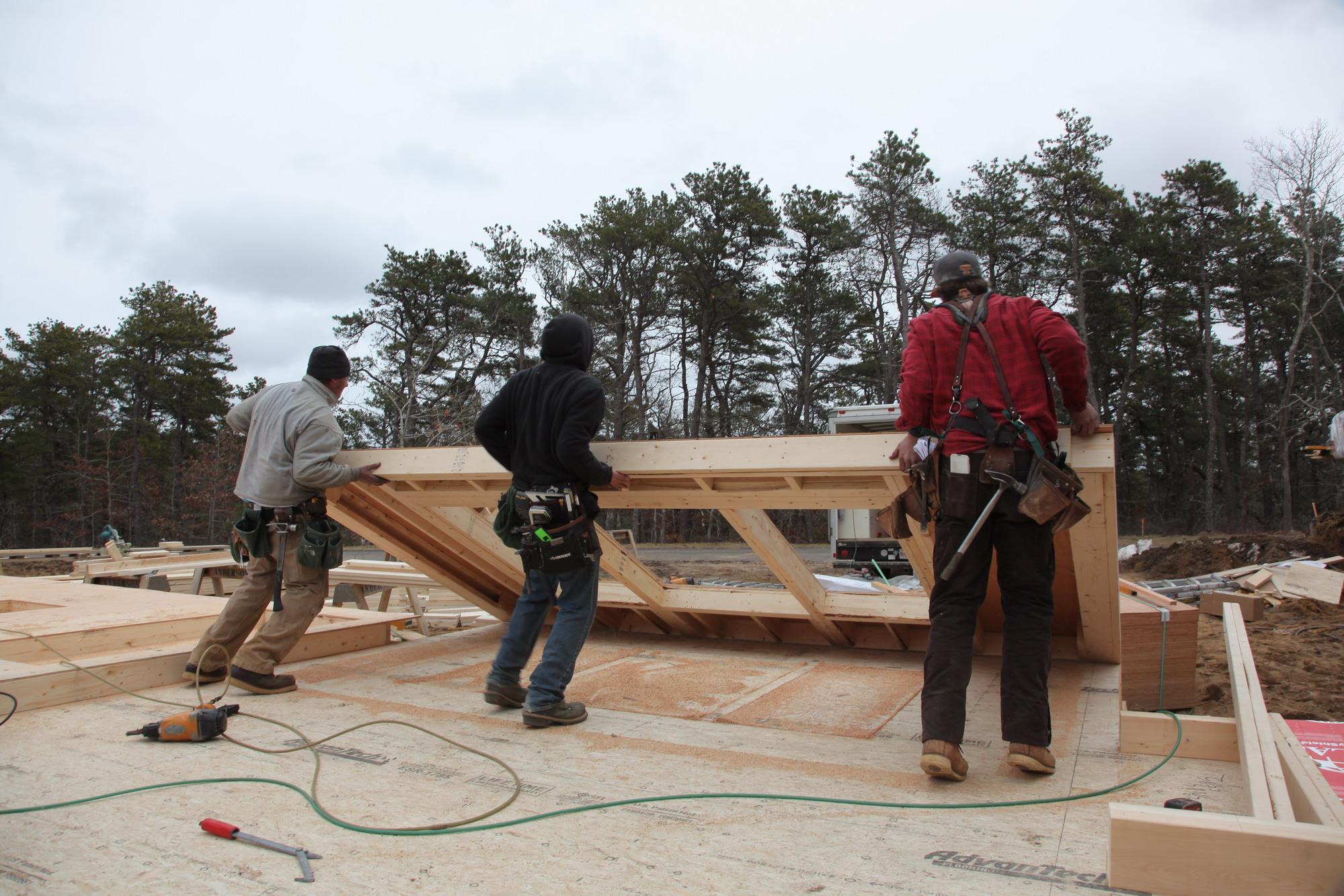 Building And Raising Exterior Walls Jlc Online