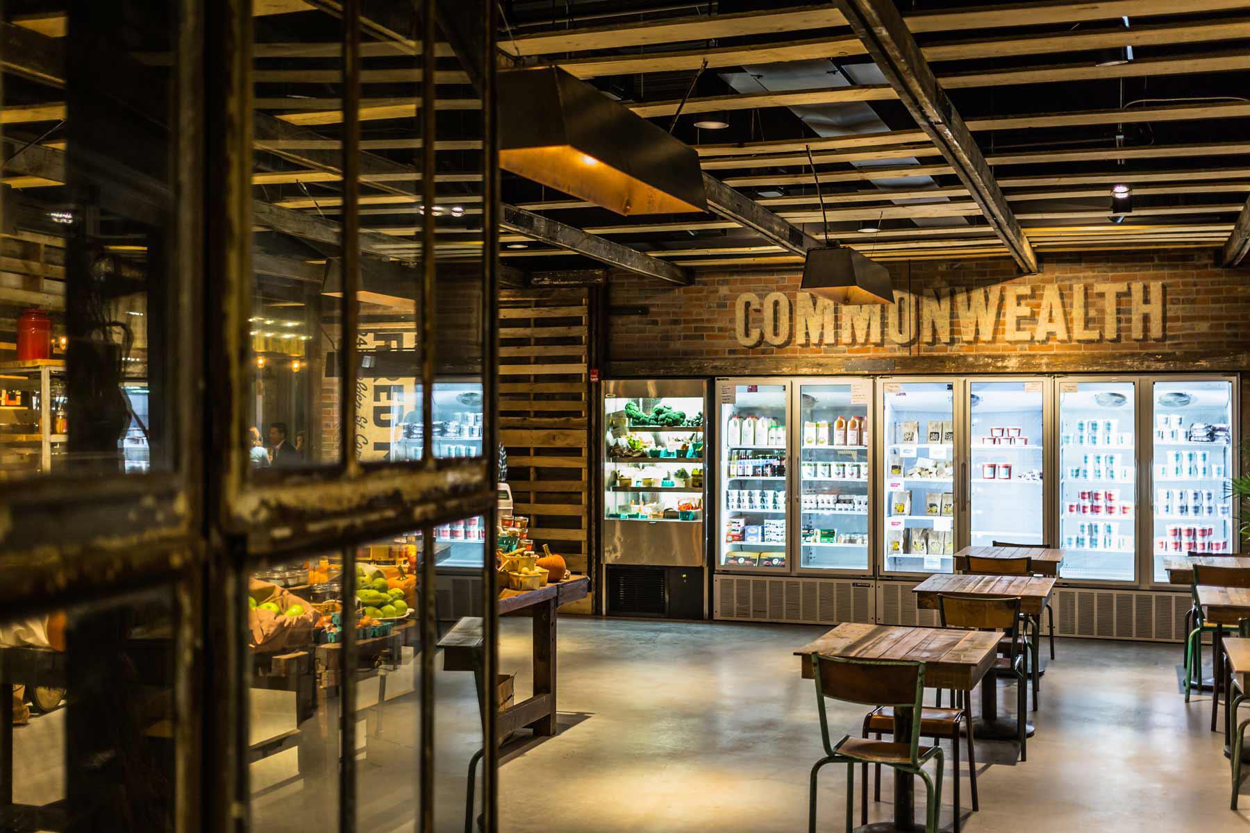 Commonwealth Restaurant And Market Architect Magazine