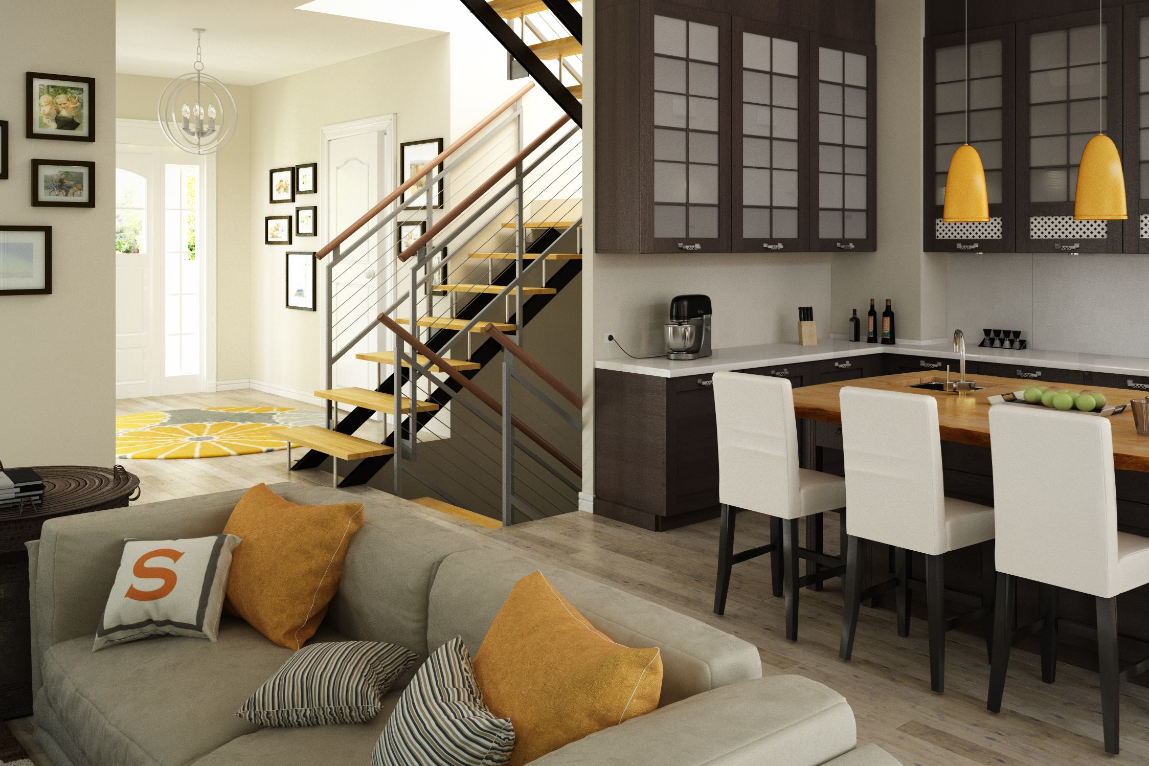 Active House Interior Design Driven By Healthy Product