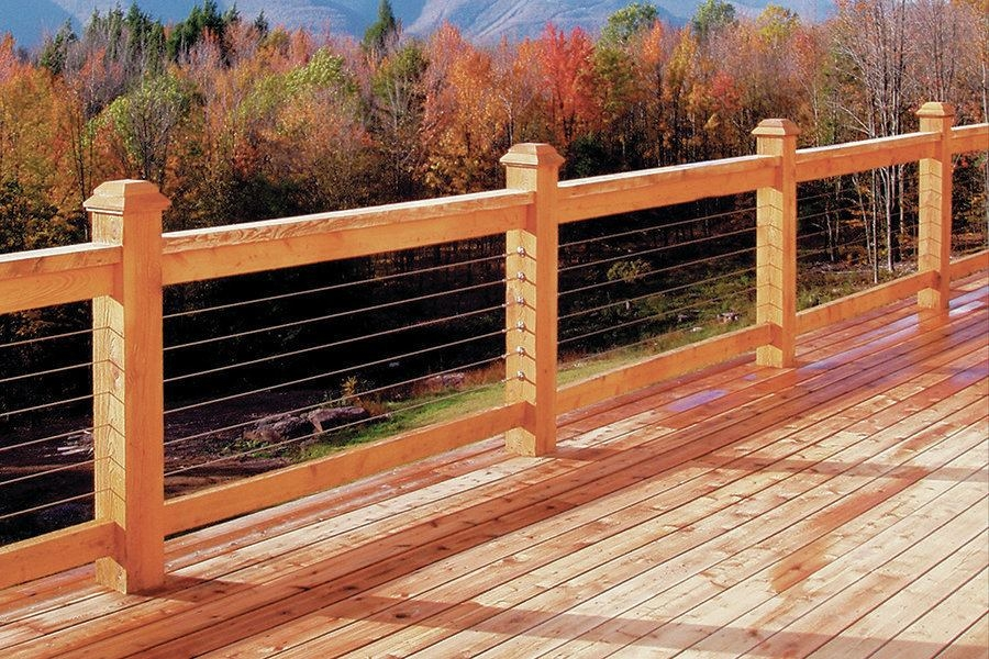 2013 Product Review Railings And Stairs Professional Deck Builder   Hog Wire Stair Railing   Outdoor Stair   Deck Railing   Thin Picket Deck   Backyard   Indoor