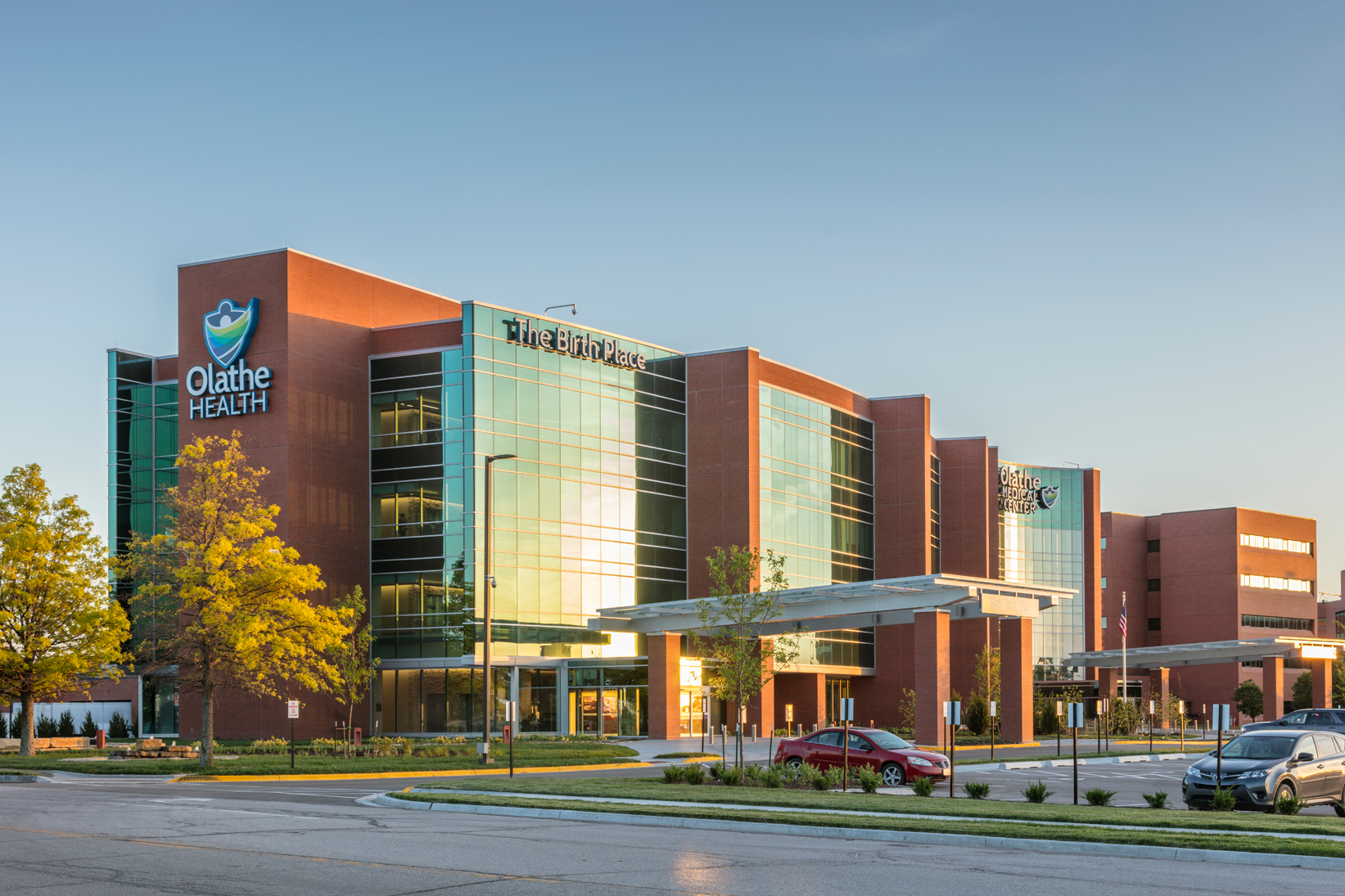 The Birth Place At Olathe Medical Center Architect