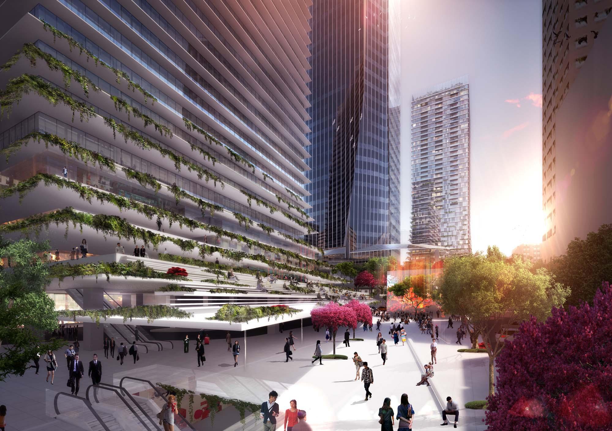 Toranomon Towers Architect Magazine
