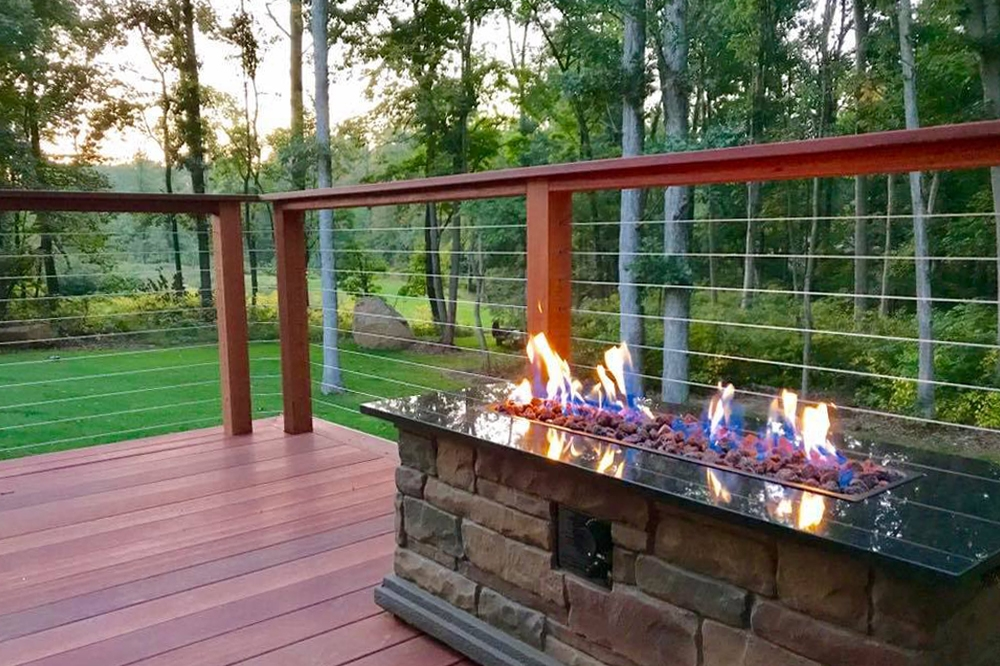 A Simple Way To Save Money On Cable Rail Professional Deck Builder | Stair Railing Cost Per Linear Foot | Rod Railing | Stair Case | Pressure Treated | Average Cost | Wrought Iron Railings