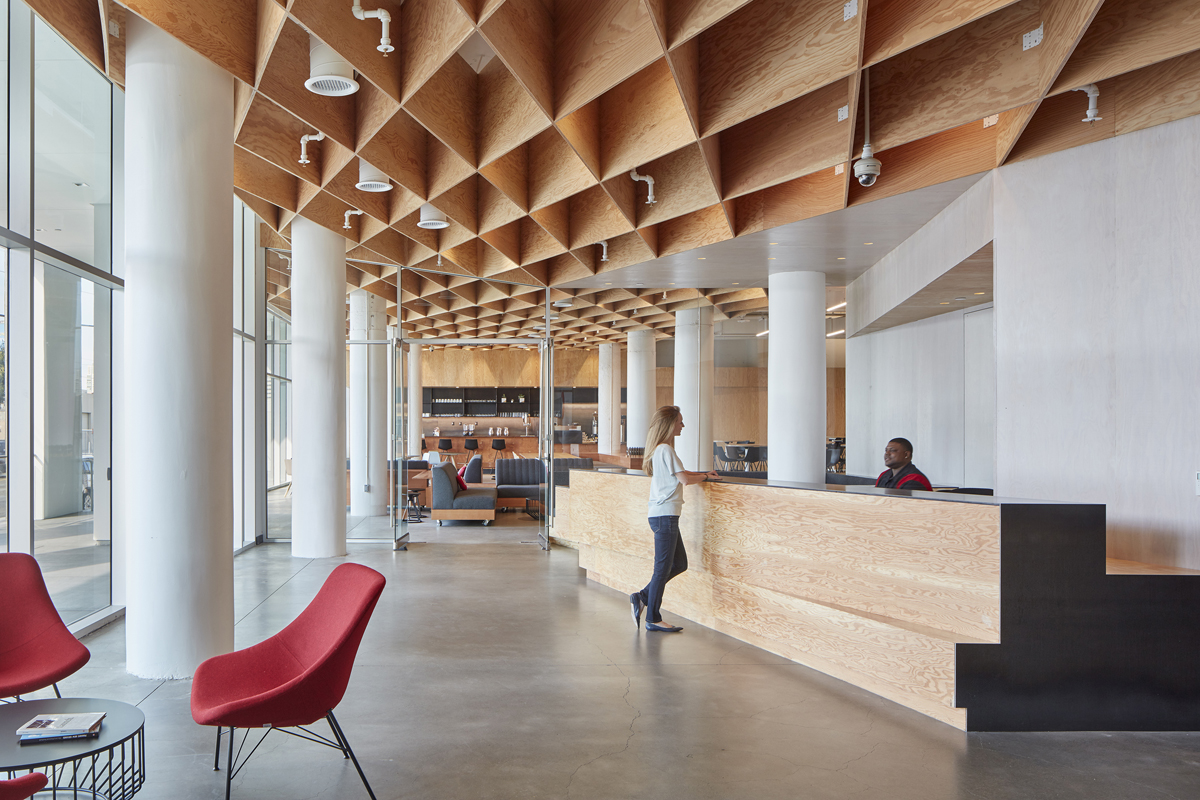 Pinterest Headquarters Architect Magazine Iwamotoscott