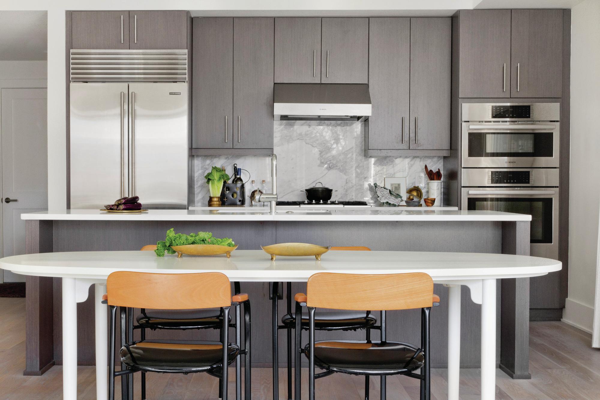 Houzz Kitchen Trends Survey Links New Kitchens To - Stone Patio Pavers