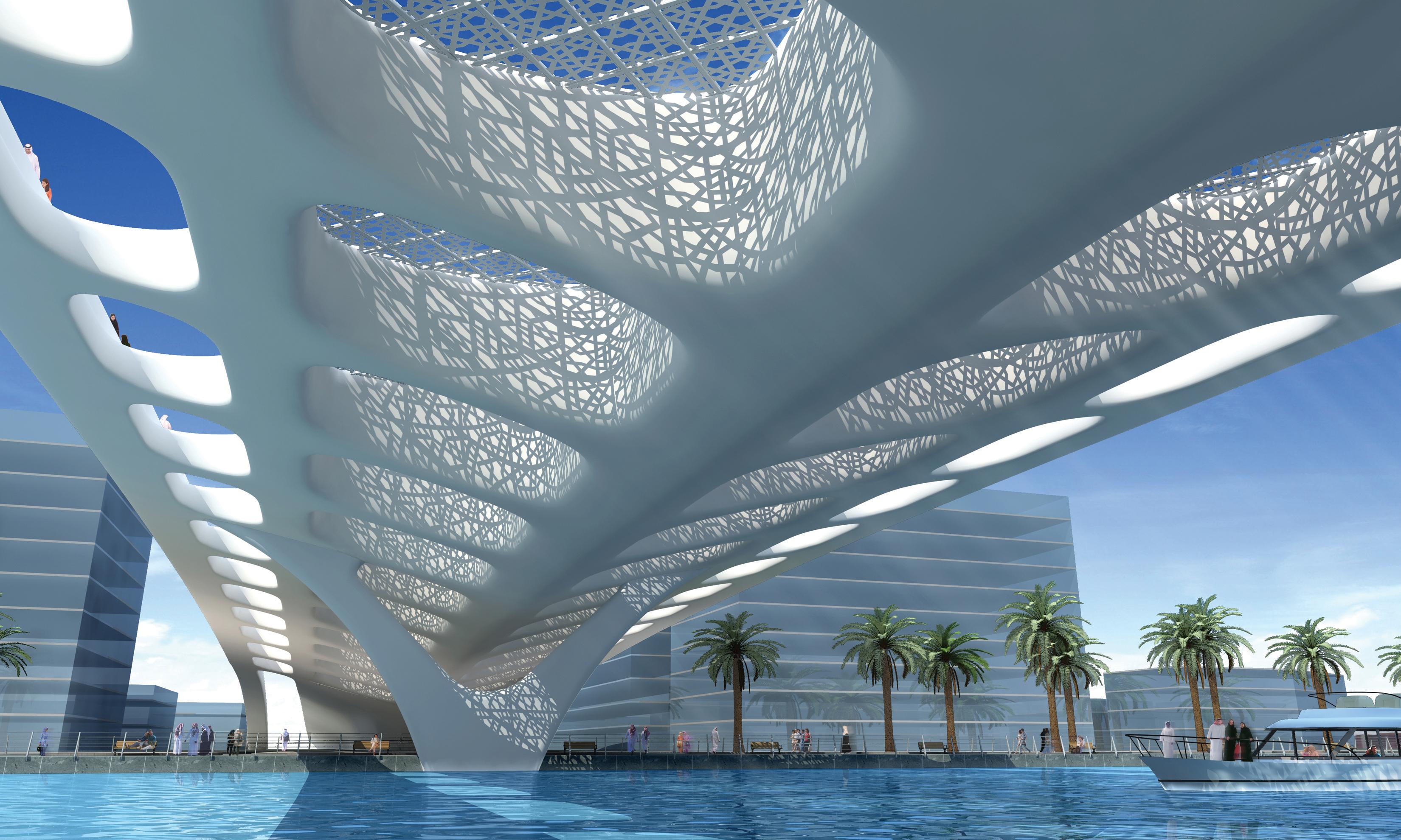 Dubai Bridge Architect Magazine
