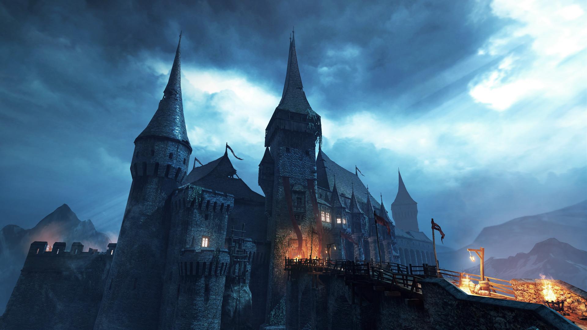 Artstation Iron Blade Transylvania Corvin Castle 3d