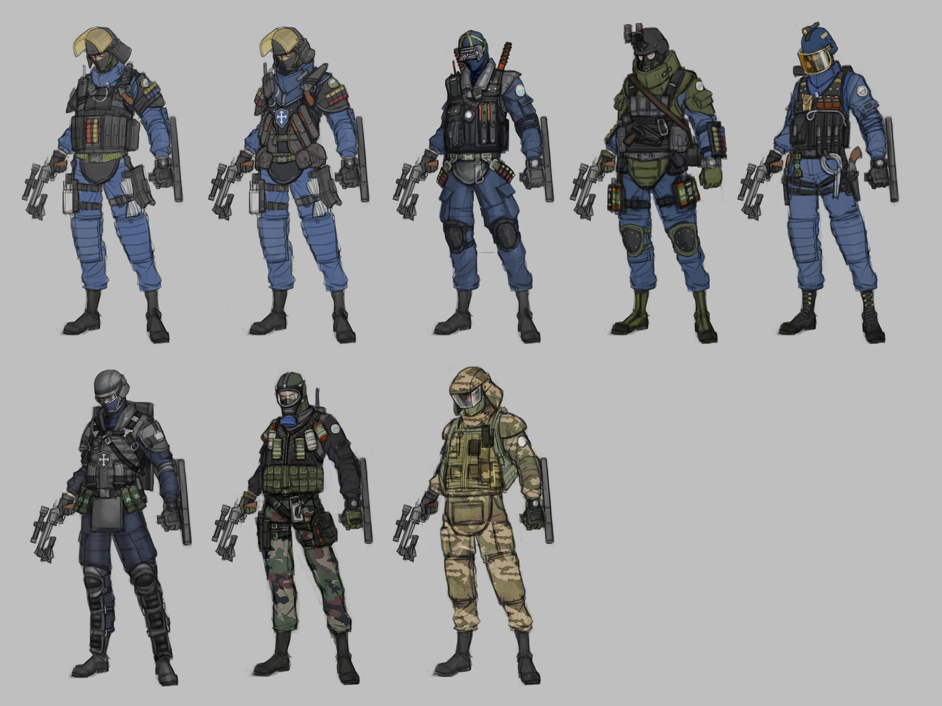 Special Forces Concept Art