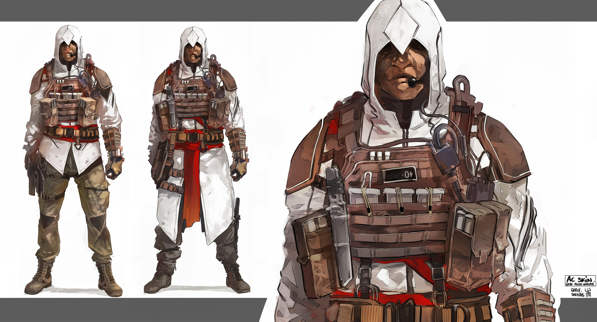 Geoffrey Bire Ghost Recon Wildlands Assassin S Creed Set